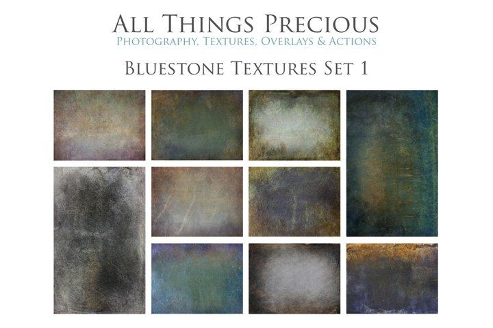 10 Fine Art Textures BLUESTONE - SET 1