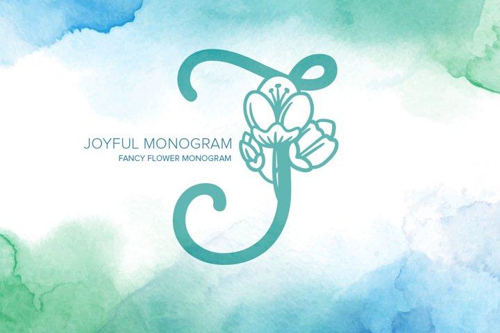 Joyful Monogram