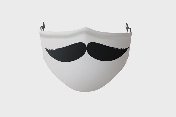 Funny Face Mask SVG Bundle, 14 Funny Designs for Mask - Free Design of The Week Design1