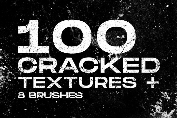 Cracked & Distressed Textures