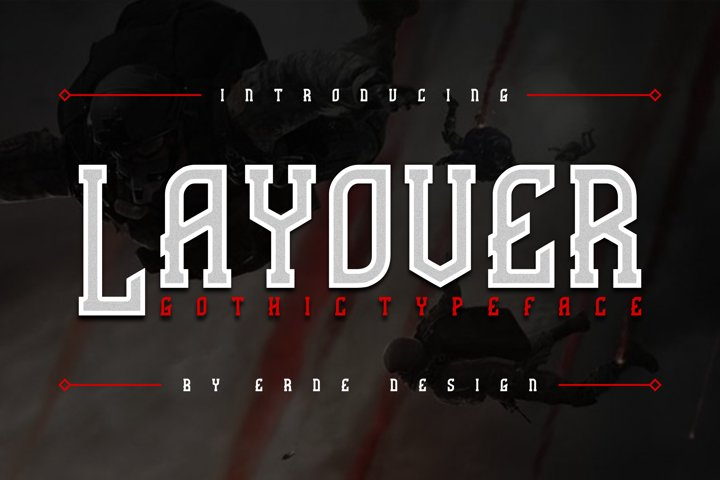 Layover - Typeface