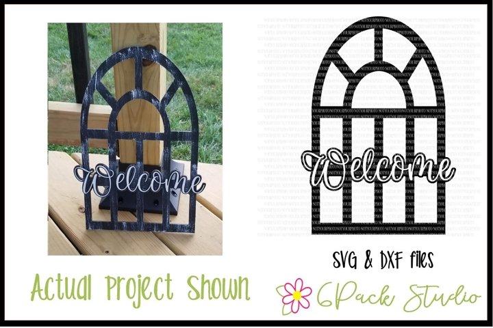 Farmhouse Window SVG