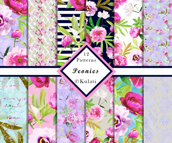 Colorful Floral Patterns
