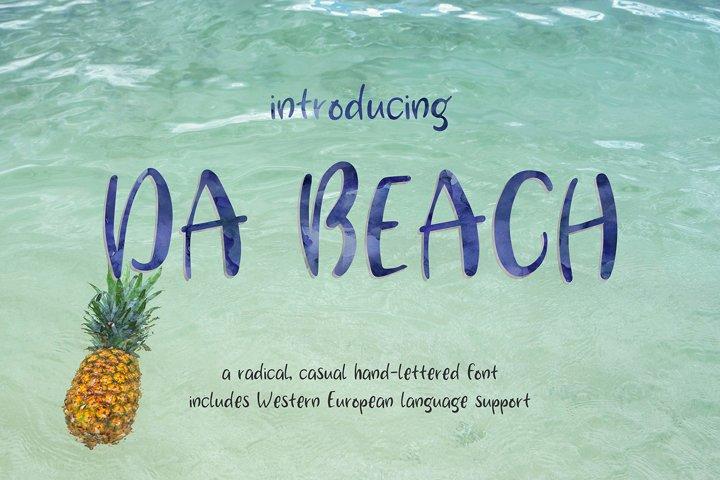 Da Beach Casual Sans Font