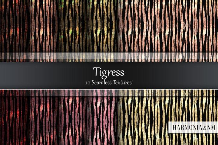 Tigress 10 Seamless Textures
