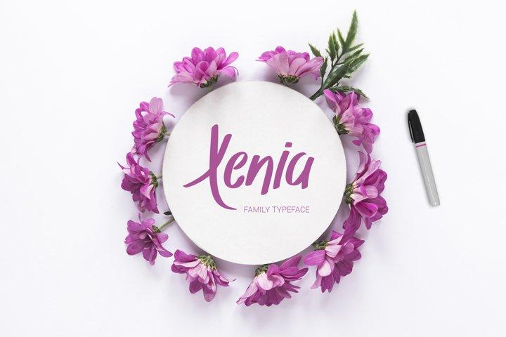 Xenia Family Typeface