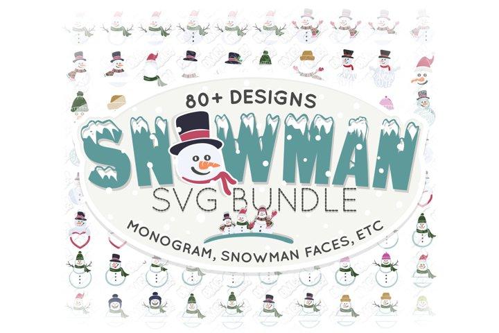 Download Snowman Svgs Design Bundles