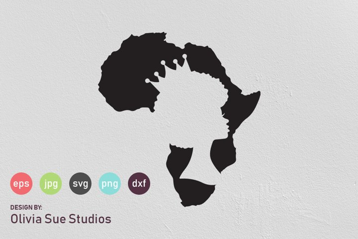 African Queen SVG Cut File