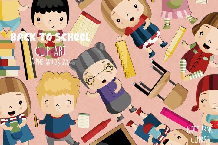 School Clipart SVG | Set of 26 |