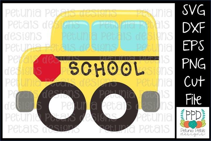 School Bus SVG 11293