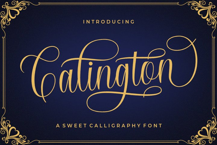 Calington Script