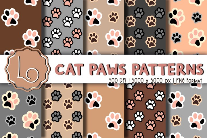 Cat Paws Patterns