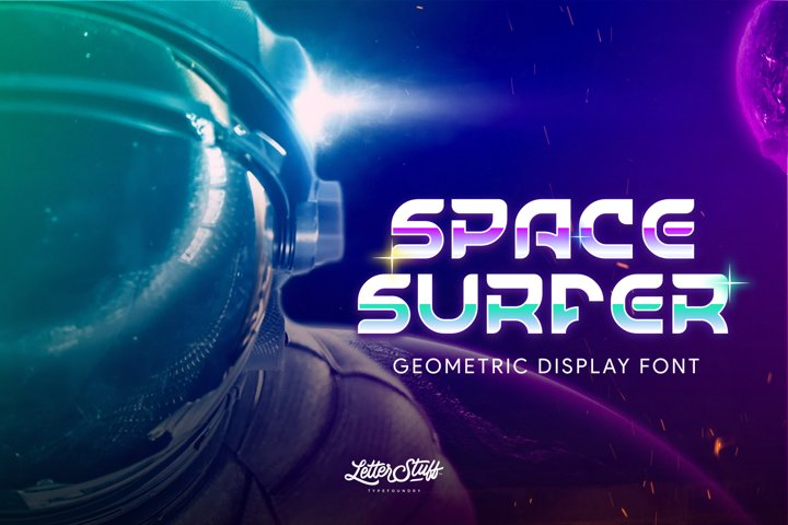 SpaceSurfer Display Font