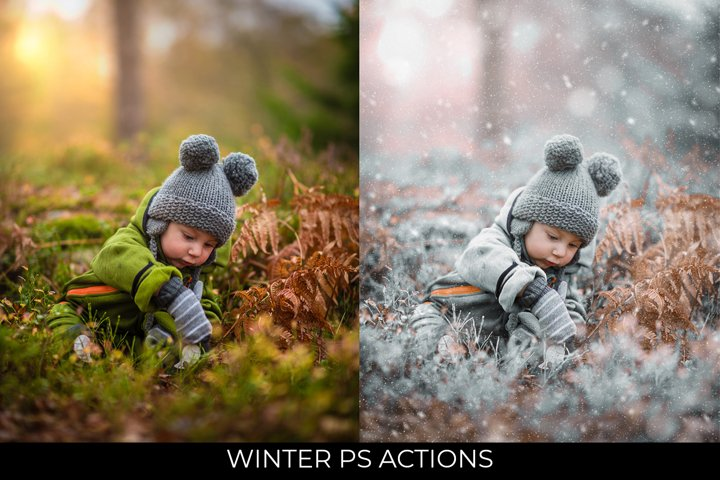 Winter Effect PS Action