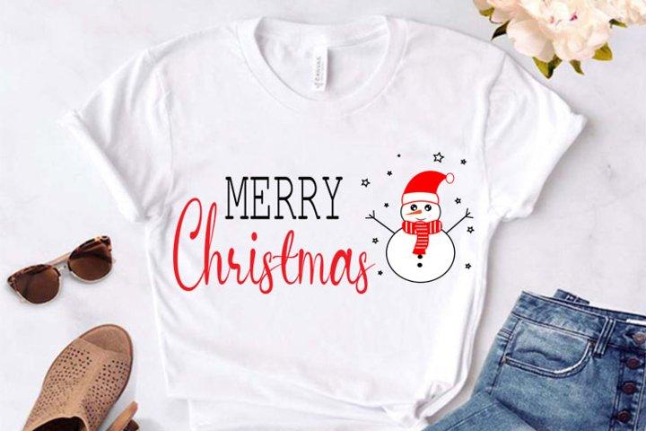 Merry Christmas SVG, Merry Christmas Cricut ,Merry Christmas