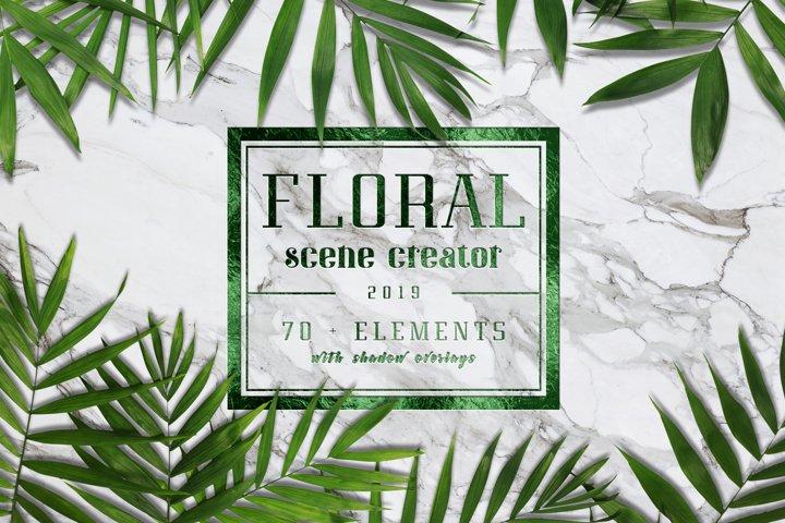 Floral Scene Generator #01