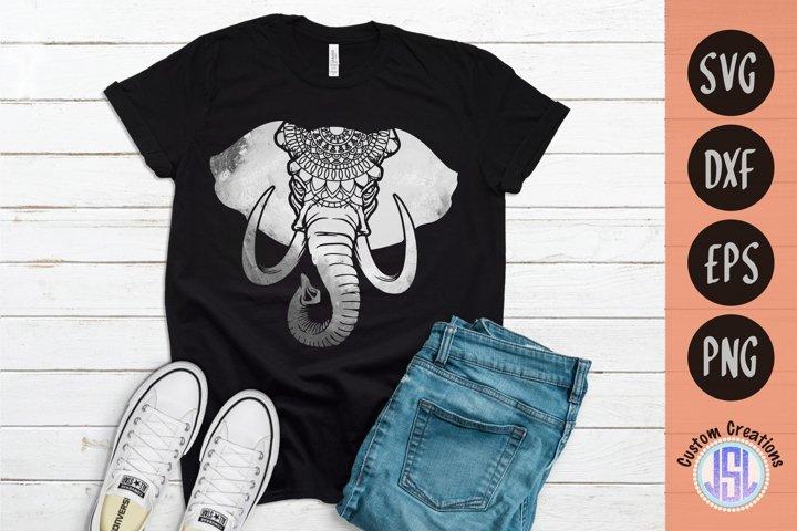 Mandala Elephant | Mandala SVG Download | SVG DXF EPS PNG