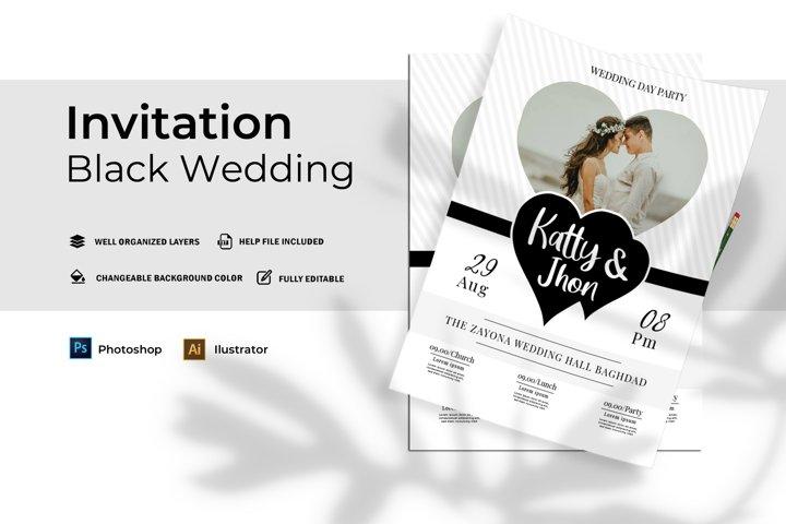 Black | Invitation