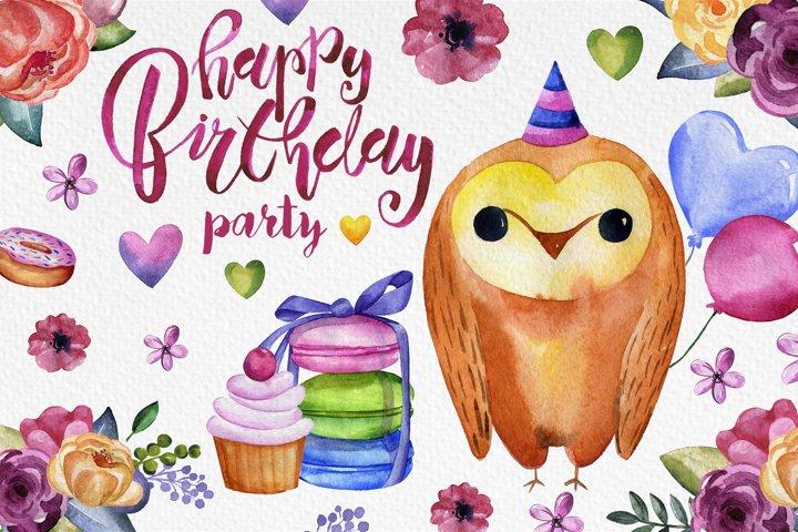 Happy Birthday Party example