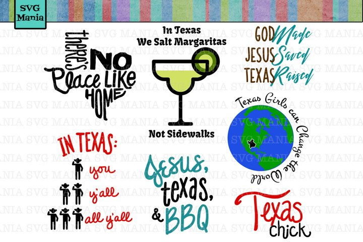 SVG Texas Bundle, Texas Sayings SVG Files, SVG Files Cricut
