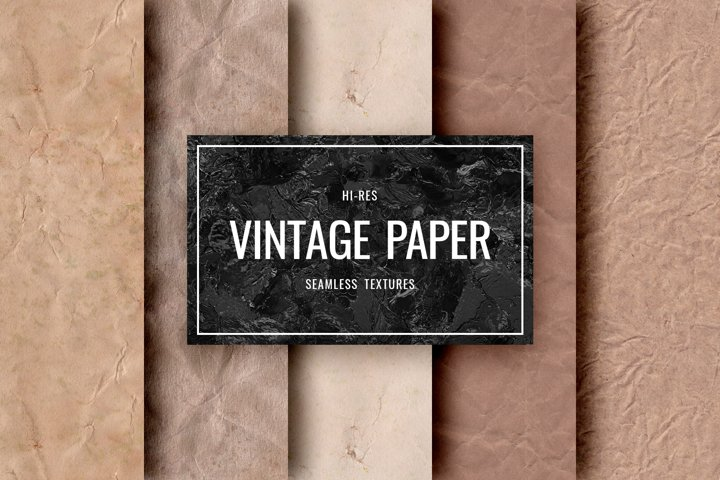 Seamless Paper - Vintage Paper Textures