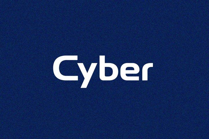 Cyber - Logo Font / Logo Use Only