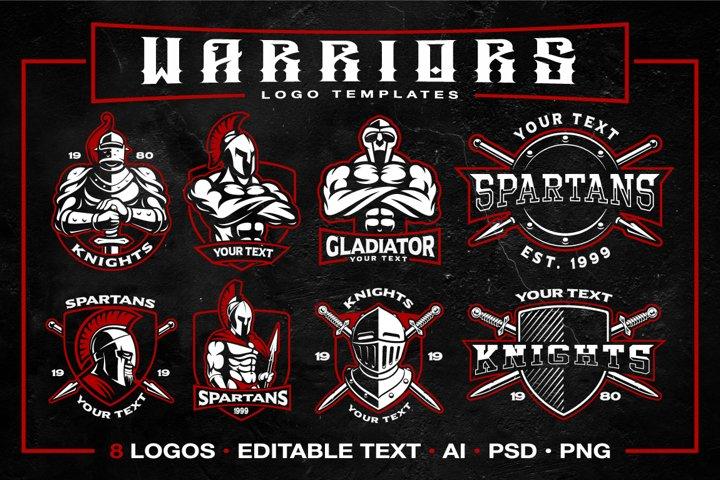 Warriors logo templates