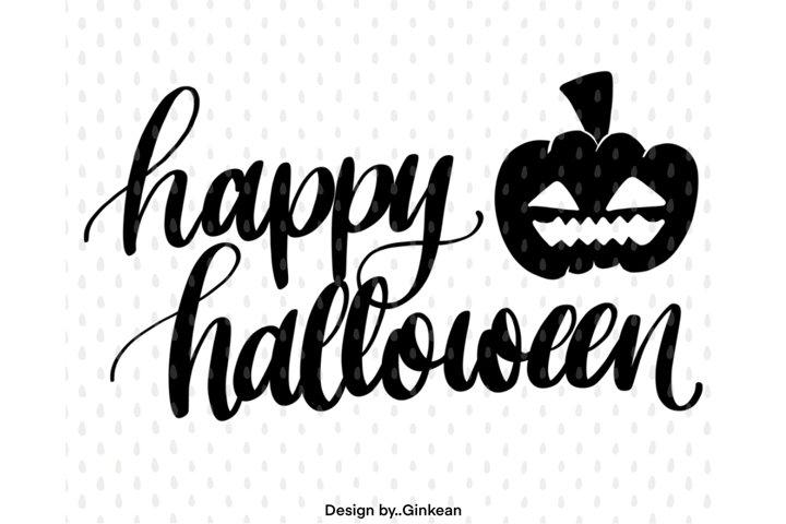 Happy halloween svg, Halloween svg cutfile, Halloween svg
