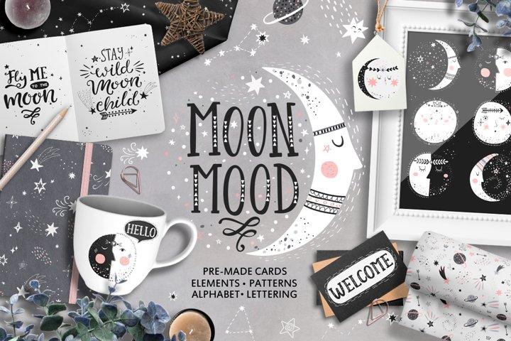 Moon mood.
