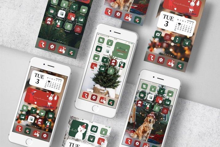 Christmas Aesthetic iOS 14 Icons