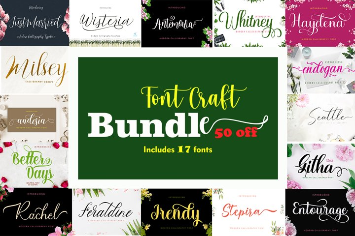Font Craft Bundle