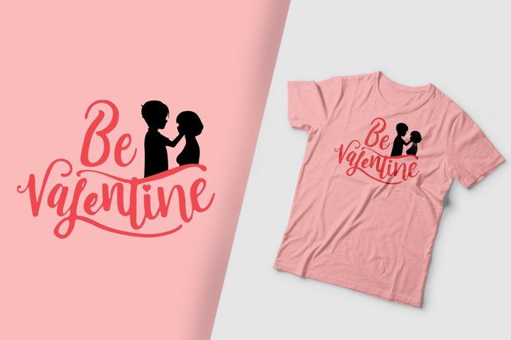 Be My Valentine Silhouette