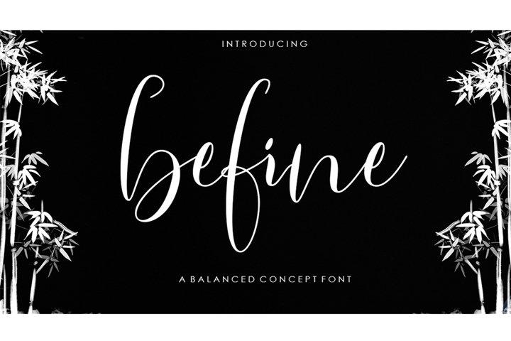 Befine Script