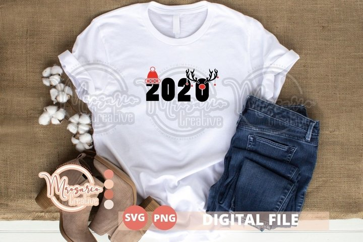 Merry Christmas Svg cutfile, Christmas 2020 Svg