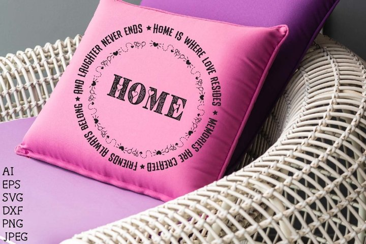 Home is where love resides memories are created,home quote