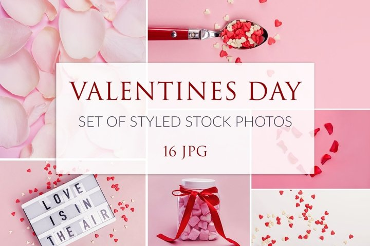 Valentines Day Stock Photo Set