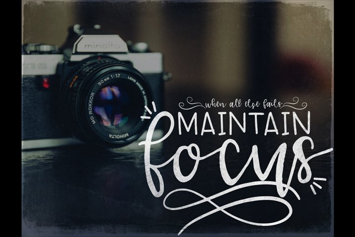 Lucille Handlettered Duo - Free Font of The Week Design6