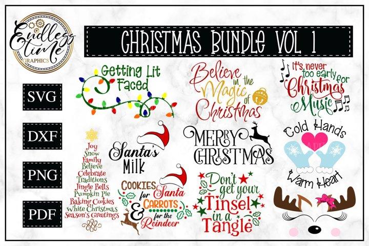 Christmas Bundle Volume 1 - Free Design of The Week Font