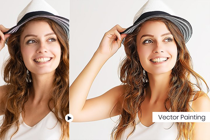 Vector Painting PS Actions