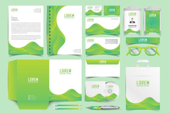 Corporate Identity Set. Stationery Template Design Kit.
