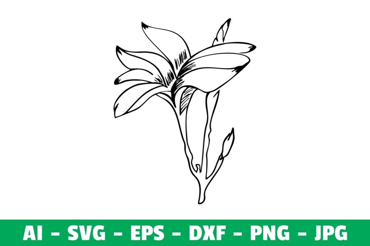 Flower Clipart SVG Craft