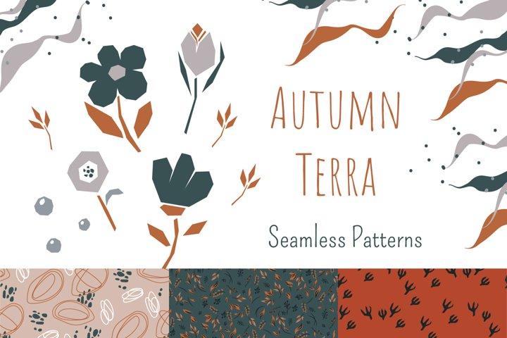Autumn Terra - Seamless Patterns