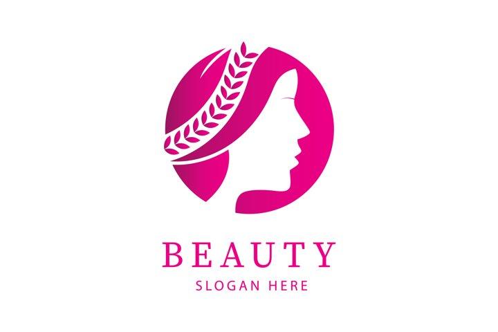 Luxury Beauty Woman Logo Design