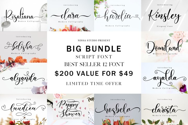 Spectacular Fonts Bundle