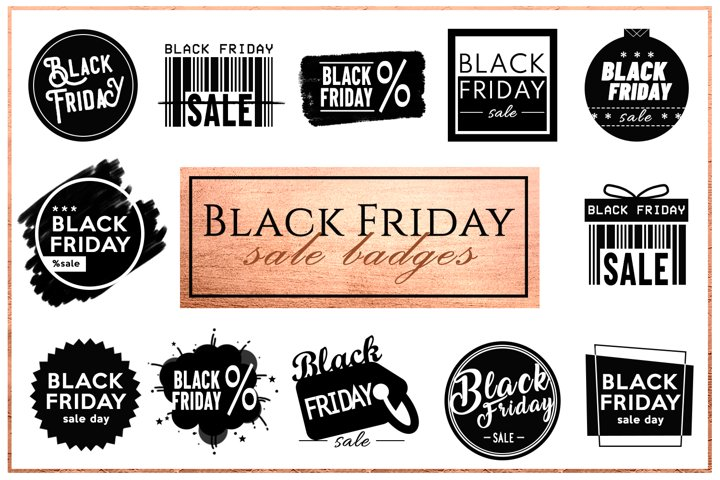 Black Friday - Sale Badges