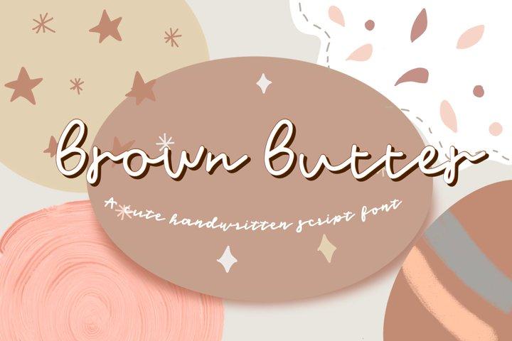 Brown Butter -Font