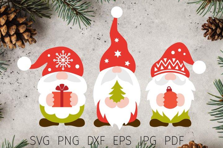 Christmas svg, christmas gnomes svg files for cricut t shirt