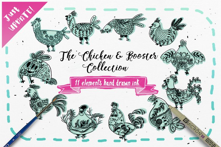 The Chicken & Rooster Collection