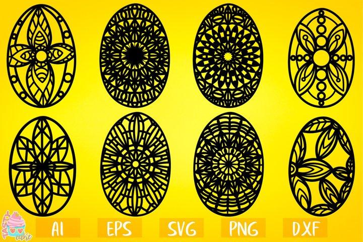 Easter Ornate Eggs Bundle - Easter Cut Files