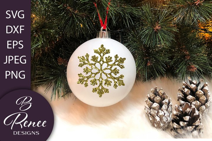 10 Snowflake SVG Bundle | Christmas Ornament SVG Bundle